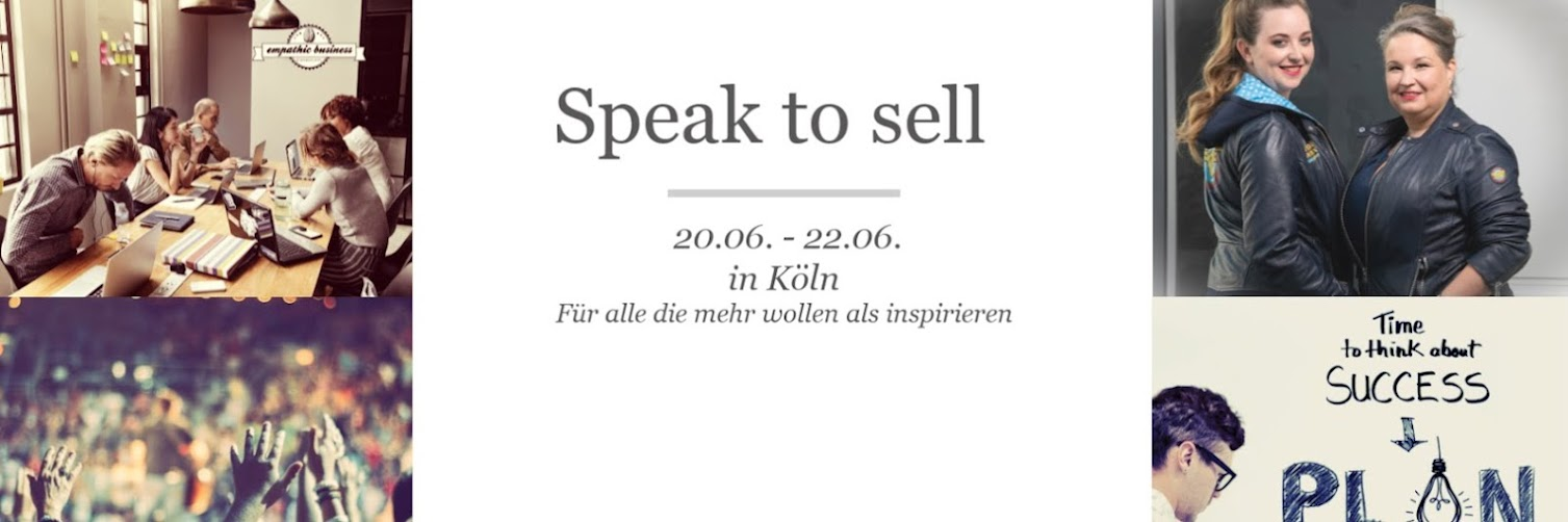 Speak to Sell  20.06. - 22.06.2019