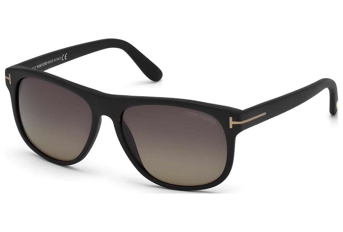 9f8f5d0786c Buy Tom Ford Olivier FT0236 C58 02D (matte black   smoke polarized)  Sunglasses
