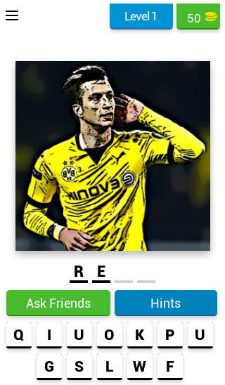 Guess The Football Player - #1 Sport Quiz ⚽ Android 1
