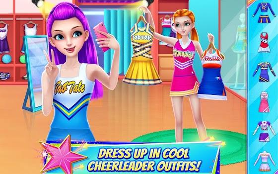 Cheerleader Dance Off Squad