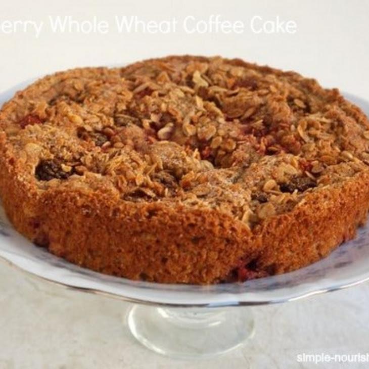 Mixed Berry Whole Wheat Coffee Cake Recipe