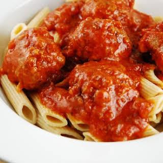 Light Italian Meatballs.