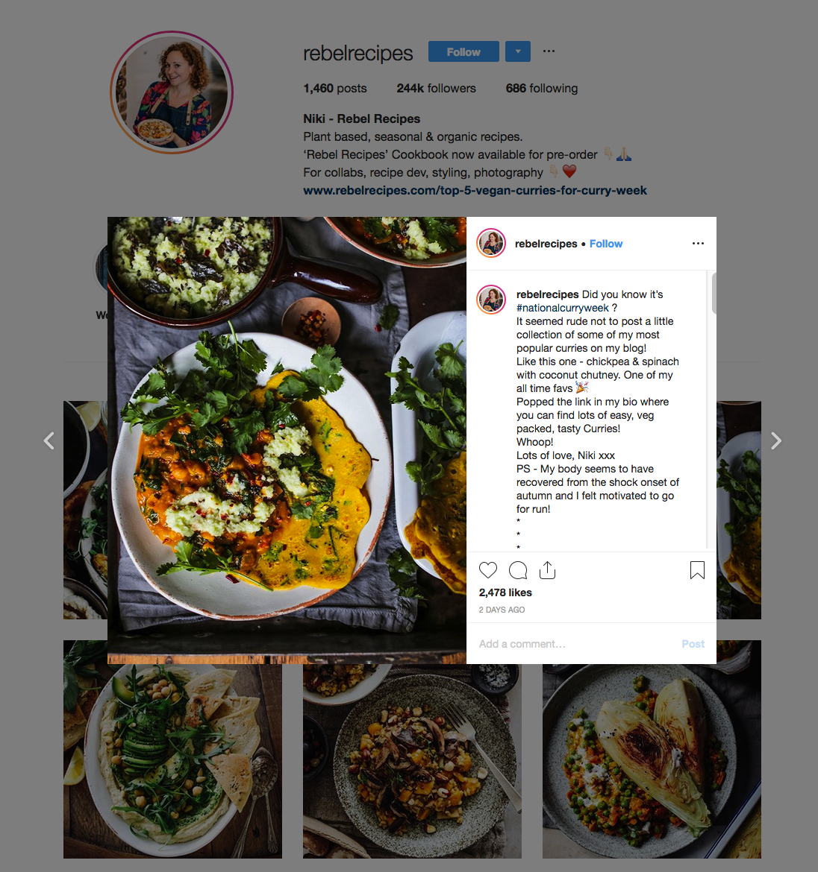Rebel Recipes | Health Influencers