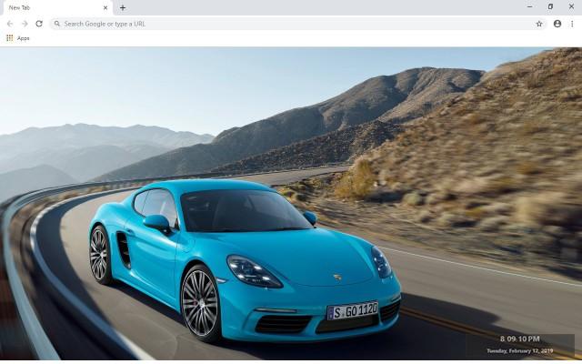 2019 Porsche Cayman New Tab