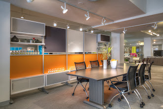 Photo: Sterling Textured Driftwood Conference-Keep Modular Wall-Valore Seating