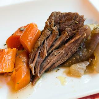 Herbed Pot Roast with Veggies