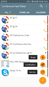 Conference Fast Dialer 3