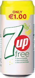 7UP Free Soft Drink - 440ml