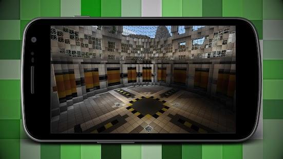 Diamond Lab PE Map for Minecraft MCPE - náhled