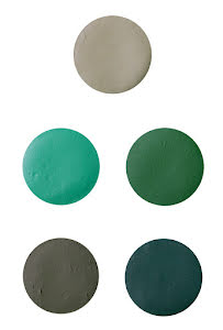 Aquasmink liten, grön