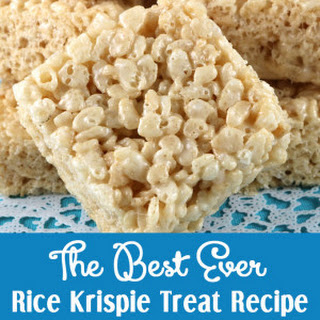 The Best Ever Rice Krispie Treat.