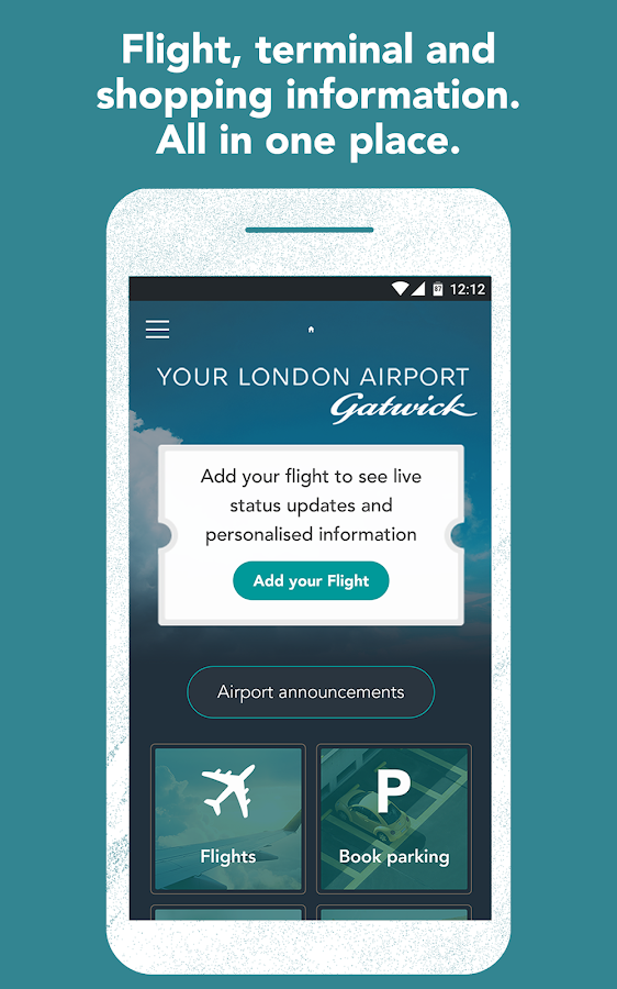 Gatwick Airport Official- screenshot