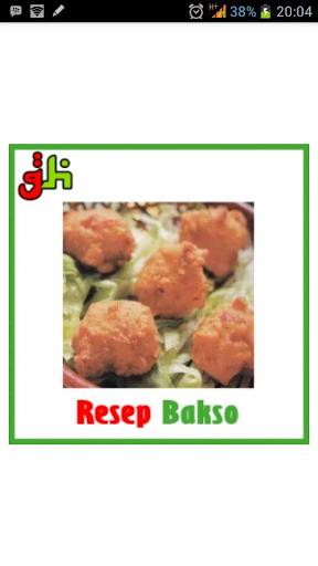 Resep Masakan Bakso