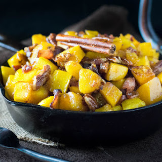 Maple and Bacon Roasted Squash