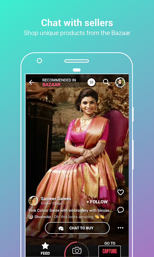 Roposo- Video Edit Filter Effect Share Selfie Chat- screenshot