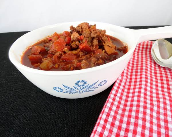 Blazin' Bbq Traditional Red Chili Recipe
