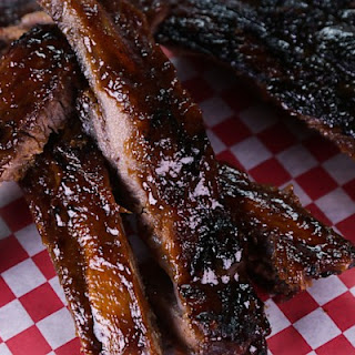 Cola Glazed Pork Ribs.