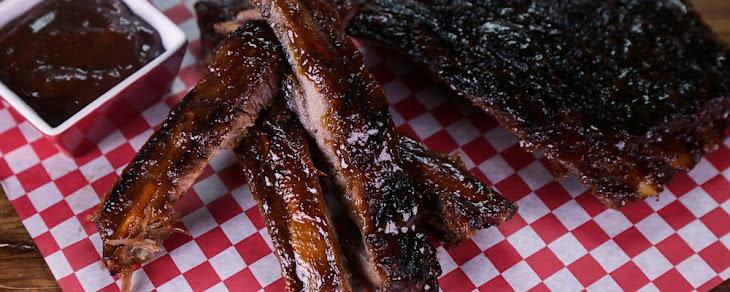 Cola Glazed Pork Ribs Recipe