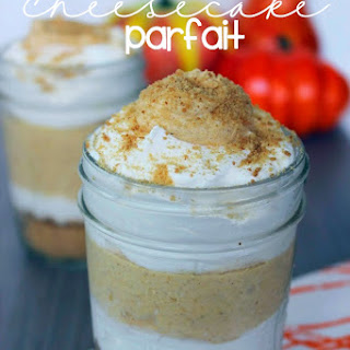 Pumpkin Cheesecake Parfait