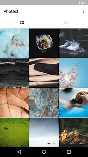 Photext - 簡單快速結合文字與圖片