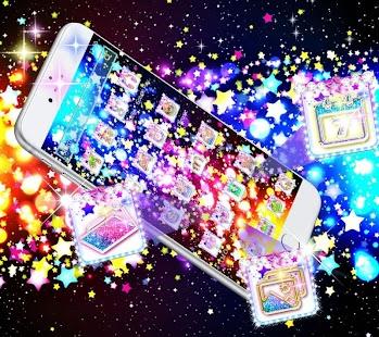 Glitter Stars Theme - náhled