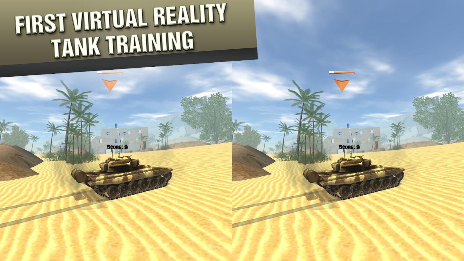 VR Tank Training Cardboard - screenshot