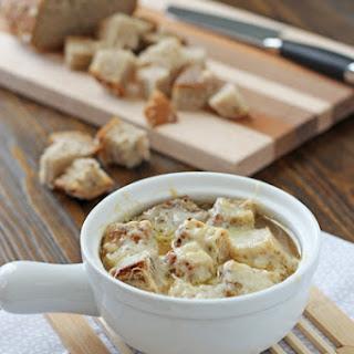 Crockpot French Onion Soup.
