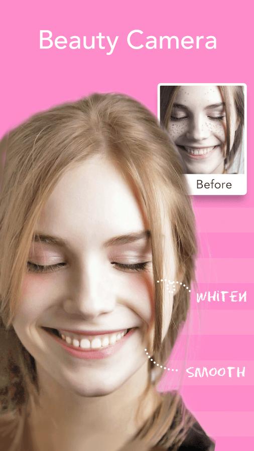Gesichtsfilter, Aufkleber, Selfie Editor - Süße Kamera android apps download