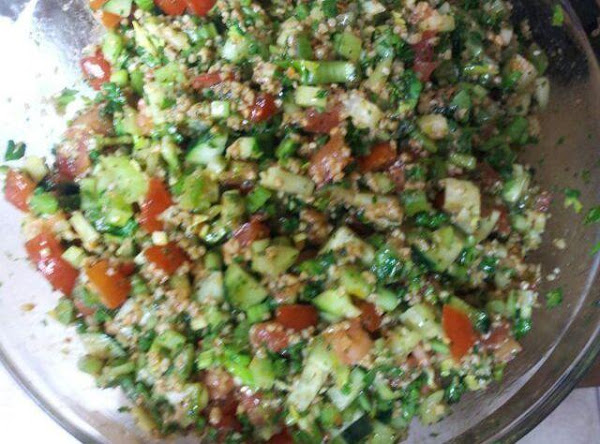 Tabouli (grandma Martha) Recipe