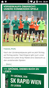 SK Rapid App- screenshot thumbnail