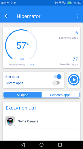 Hibernator – Hibernate apps & Save battery v2.4.10 [Pro]