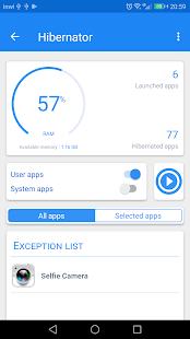 Hibernator - Hibernate apps & Save battery Ekran Görüntüsü
