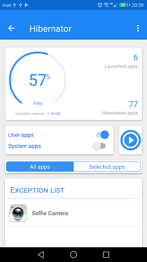 Hibernator - Hibernate apps & Save battery 2.5.6 (Pro + AOSP) APK