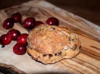 Easy Cranberry-orange Scones Recipe