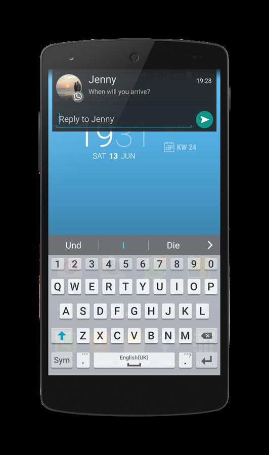 Floatify Heads-up QuickReplies- screenshot