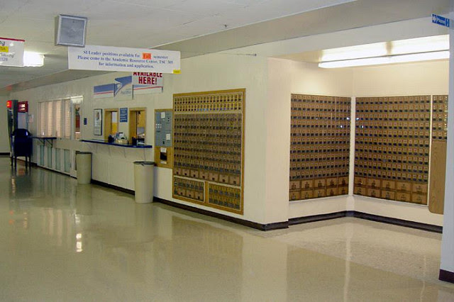 Utah State University post office/CPU