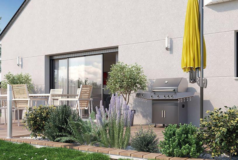 Vente Terrain + Maison - Terrain : 826m² - Maison : 120m² à Semblançay (37360)