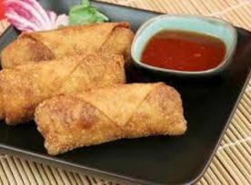 Shrimp And Mango Eggrolls Recipe