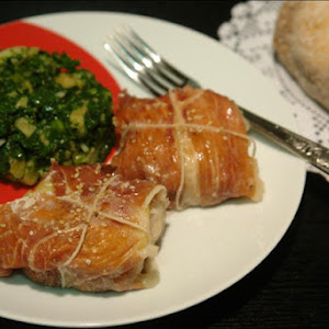 Hake with Apple and Ham