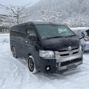 ハイエース  4.5型 ワイドS-GL 4WDのカスタム事例画像 ゆれるさんの2021年01月13日11:30の投稿
