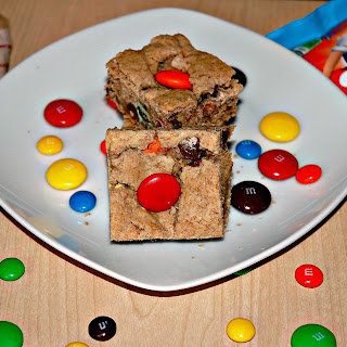 Mega M&M Blondies