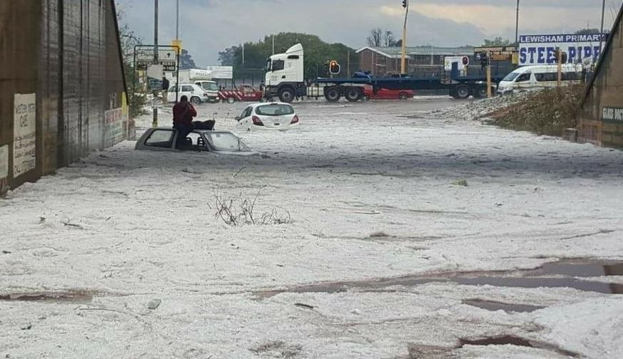 Watch Trail Of Destruction Left By Deadly Hailstorm