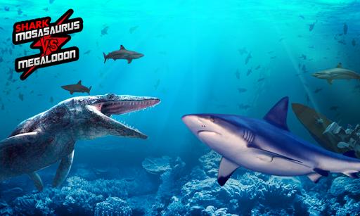 鯊魚:滄龍屬VS巨齒鯊