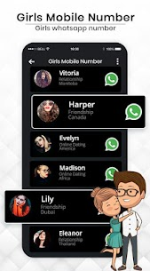 Hot Girls Mobile Numbers – Prank With Friends apk download 3