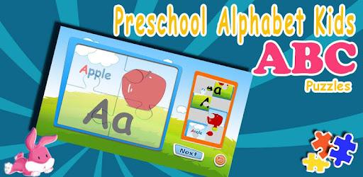 Alphabet puzzles & flash cards for PC