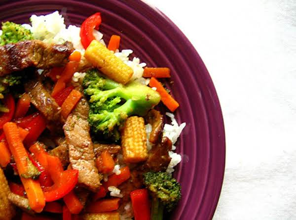 Beef Stir Fry With Vegetables Recipe