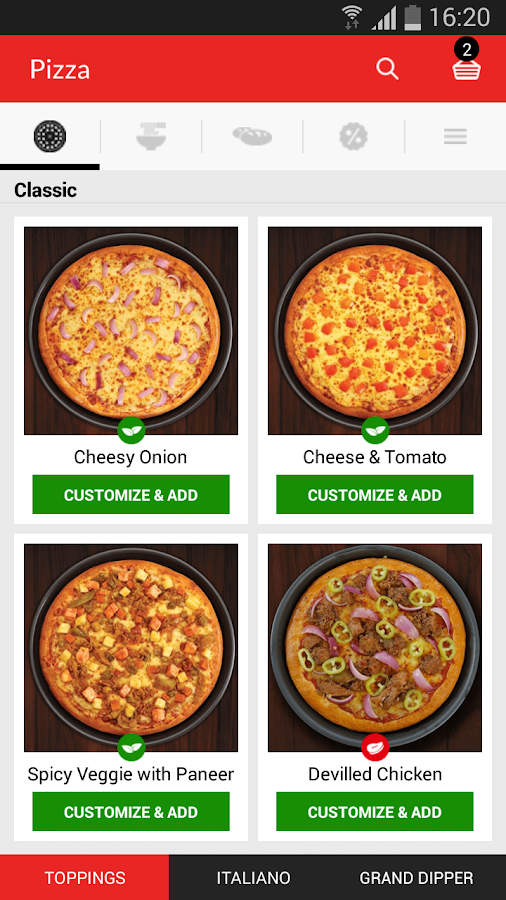 Pizza Hut – Sri Lanka- screenshot