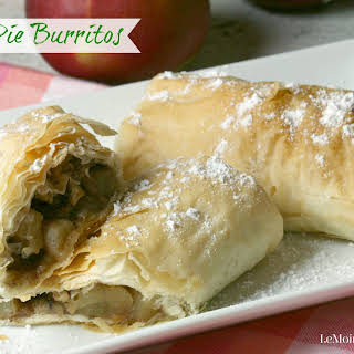 Apple Pie Burritos.