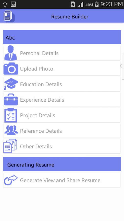 Easy Resume Builder   Android Apps on Google Play meAFzMTV