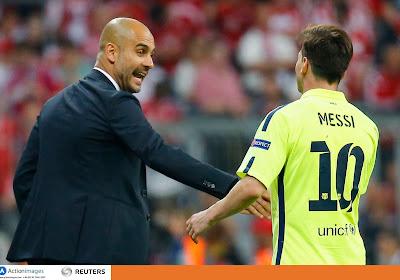 Lionel Messi aurait passé un coup de fil à Pep Guardiola...pour évoquer un transfert à Manchester City